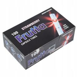 Сигаретные гильзы с капсулой Frutta STRAWBERRY